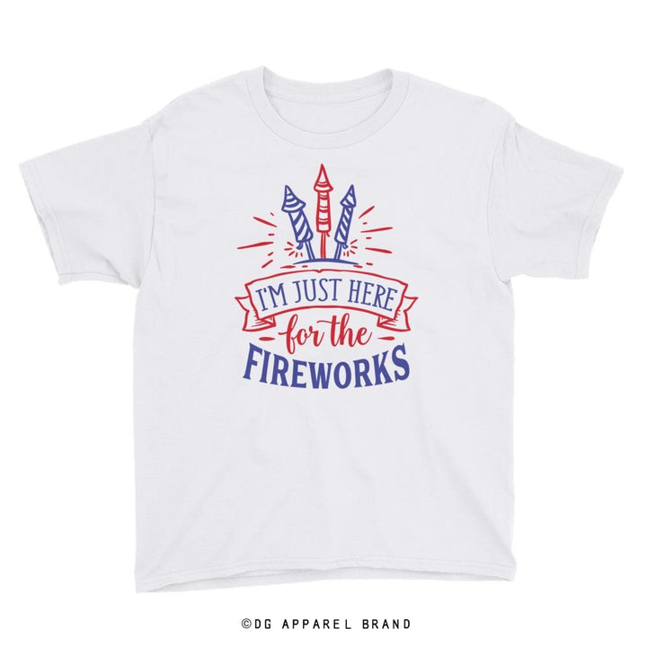 Fireworks Youth Short Sleeve T-Shirt -   | DG Apparel Brand