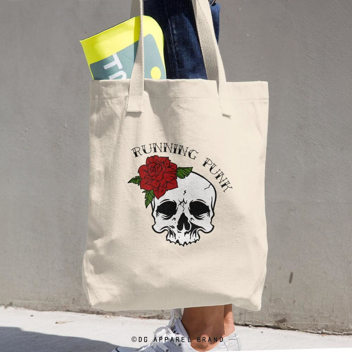 Running Punk Ladies Tote Bag -  tote | DG Apparel Brand