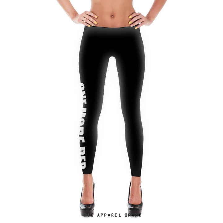One More Rep Leggings -  leggings | DG Apparel Brand