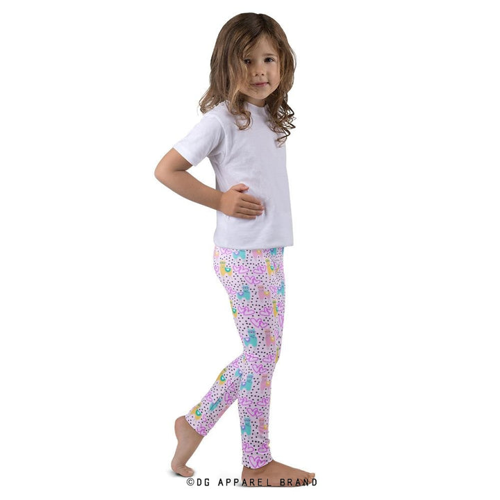 Kid's Llama Leggings -   | DG Apparel Brand
