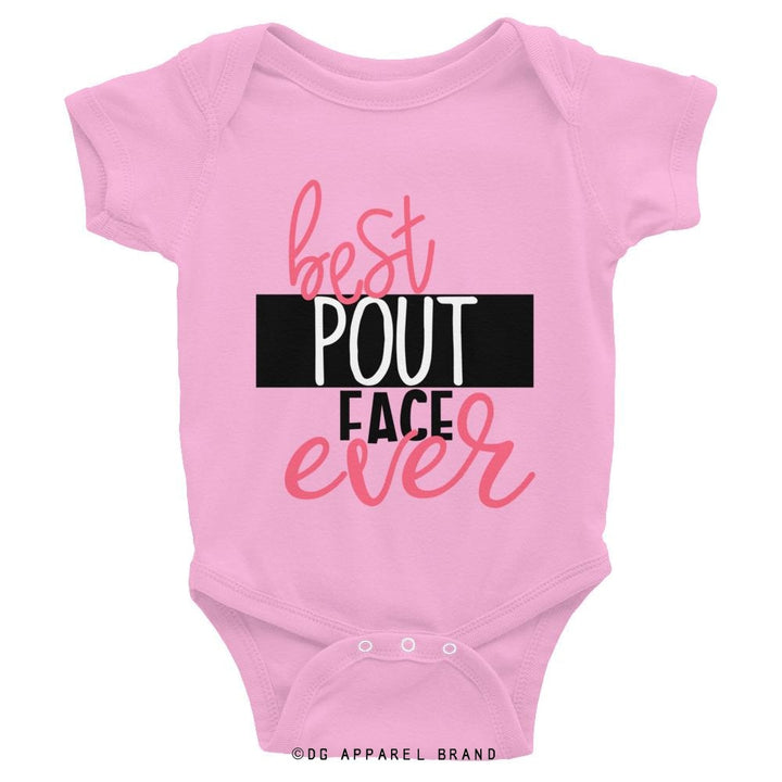 Best Pout Face Ever Baby Bodysuit -   | DG Apparel Brand