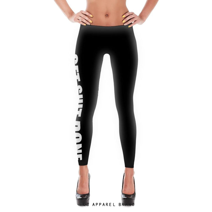 Get Shit Done Leggings -  leggings | DG Apparel Brand