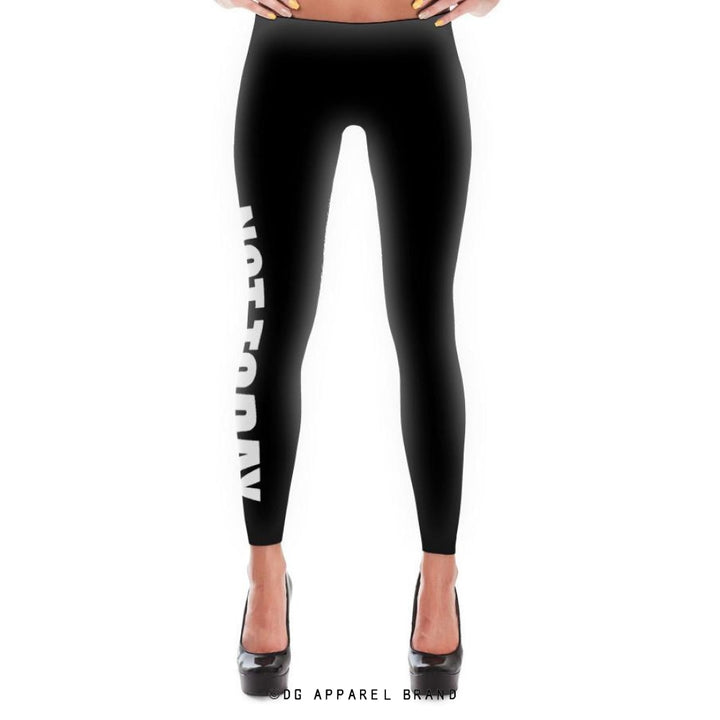 Not Today Leggings -  leggings | DG Apparel Brand
