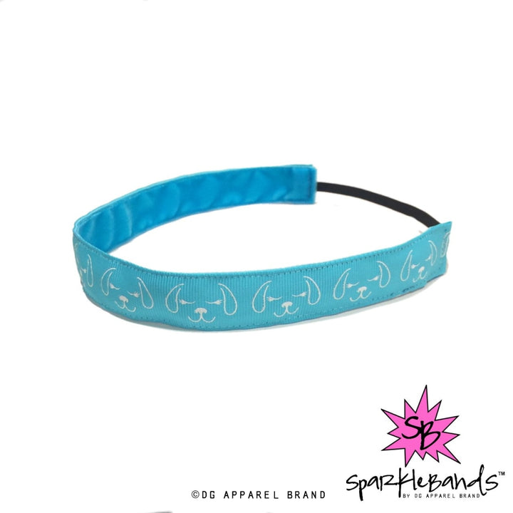 Puppy Faces Headband -  Non-Slip Headband | DG Apparel Brand