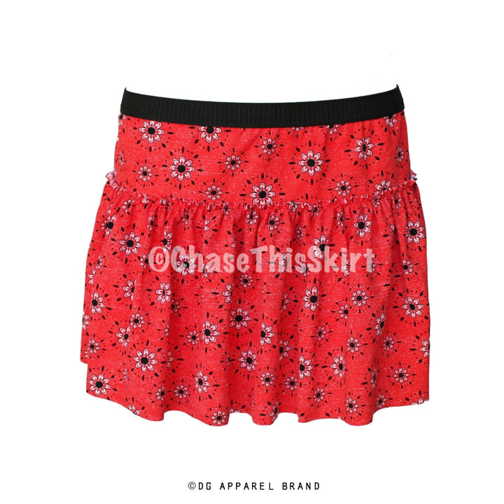 Red Bandana Running Skirt -  Running Skirt | DG Apparel Brand