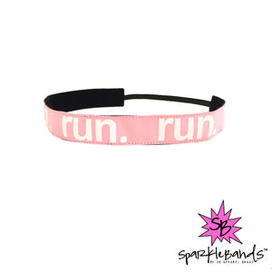 RUN Headband -  Non-Slip Headband | DG Apparel Brand