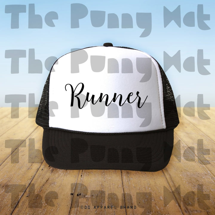 Runner Trucker Hat -  Trucker Hat | DG Apparel Brand