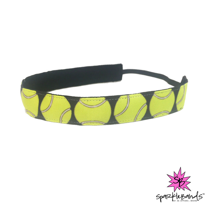 Tennis Balls Headband -  Non-Slip Headband | DG Apparel Brand