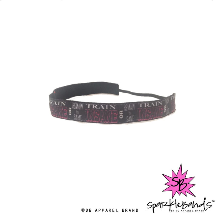 Train Insane Headband -  Non-Slip Headband | DG Apparel Brand