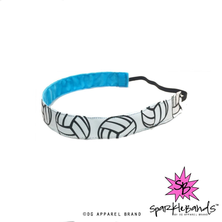 Big Volleyballs Headband -  Non-Slip Headband | DG Apparel Brand
