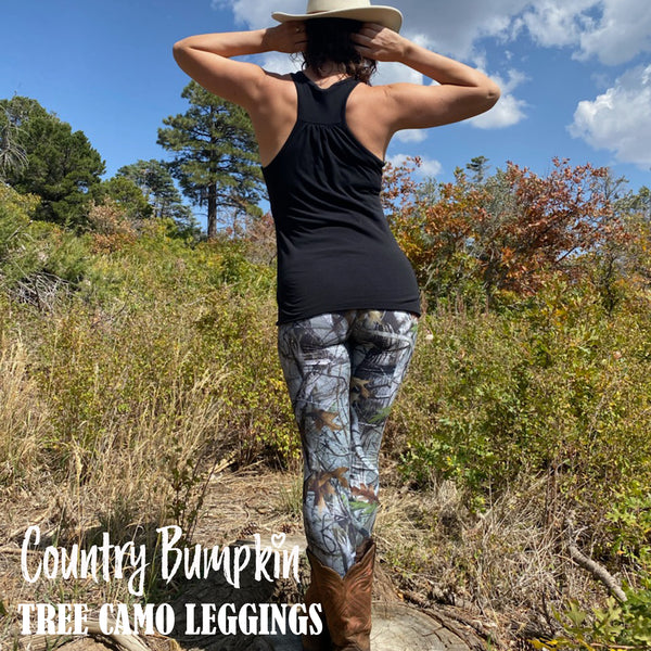 Country Bumpkin Tree Camo Leggings