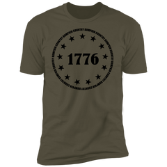 Country Bumpkin 13 stars 1776 NL3600 Premium Short Sleeve T-Shirt
