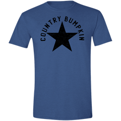 Country Bumpkin Distressed Star G640 Softstyle T-Shirt