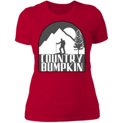 Country Bumpkin Hiker NL3900 Ladies' Boyfriend T-Shirt