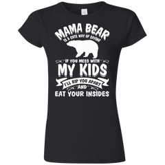 Mama Bear Top G640L Gildan Softstyle Ladies' T-Shirt