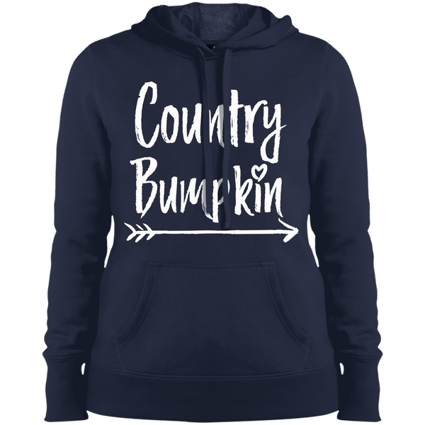 """Country Bumpkin"" LST254 Sport-Tek Ladies' Hooded Sweatshirt"