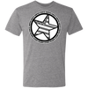 """Country Bumpkin"" Diagonal Star with Flag NL6010 Men's Triblend T-Shirt"