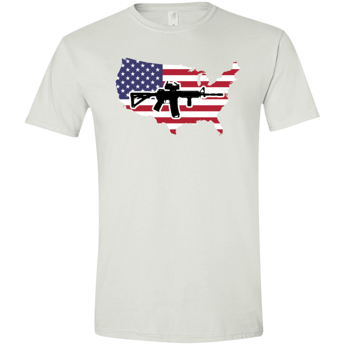 2A USA Softstyle T-Shirt
