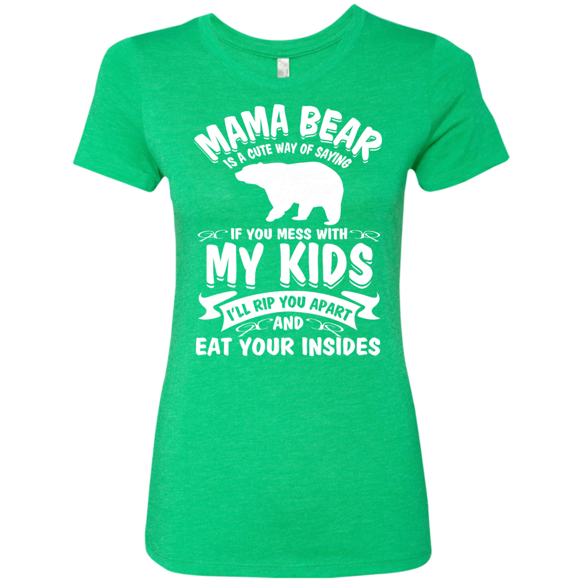 Mama Bear Top NL6710 Next Level Ladies' Triblend T-Shirt