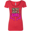 """Hunt Like A Girl"" Next Level Ladies' Triblend Scoop"