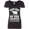 Mama Bear Top NL6730 Next Level Ladies' Triblend Scoop
