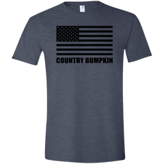 Country Bumpkin US Flag G640 Softstyle T-Shirt