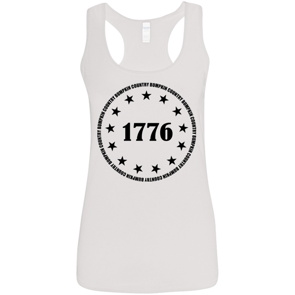 Country Bumpkin 13 stars 1776 G645RL Ladies' Softstyle Racerback Tank
