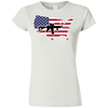 2A USA Softstyle Ladies' T-Shirt