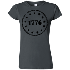 Country Bumpkin 13 stars 1776 G640L Softstyle Ladies' T-Shirt