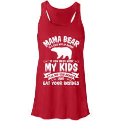Mama Bear Top B8800 Bella + Canvas Flowy Racerback Tank