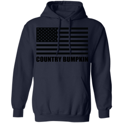 Country Bumpkin US Flag G185 Pullover Hoodie 8 oz.