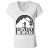 Country Bumpkin Hiker B6005 Ladies' Jersey V-Neck T-Shirt