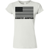 Country Bumpkin US Flag G640L Softstyle Ladies' T-Shirt