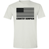 Country Bumpkin American Flag G640 Softstyle T-Shirt