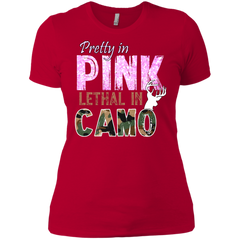 Lethal In Camo Next Level Ladies' Boyfriend T-Shirt