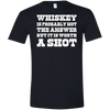 """Worth A Shot"" G640 Gildan Softstyle T-Shirt"