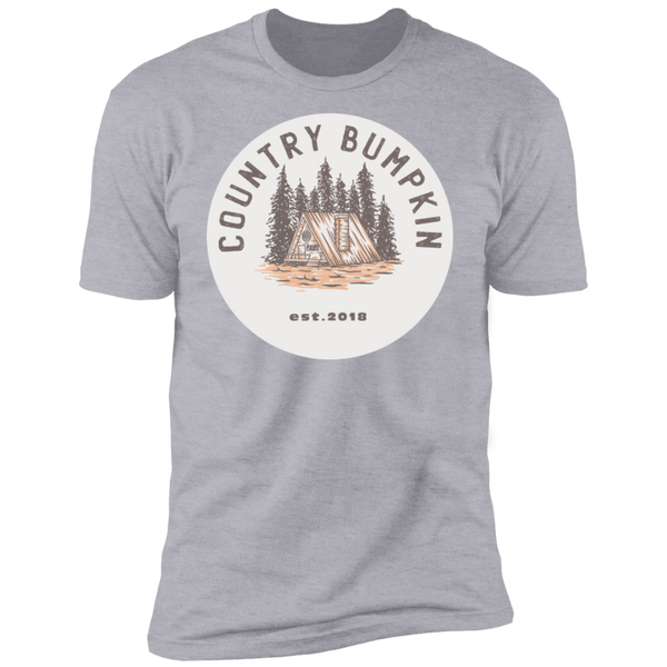 """Country Bumpkin"" Cottage Est 2018 Premium T Shirt"