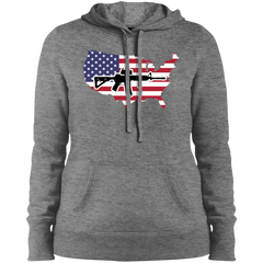2A USA Ladies' Pullover Hooded Sweatshirt