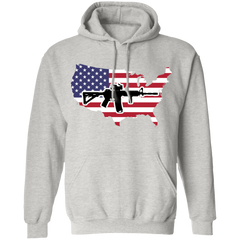 2A USA Pullover Hoodie 8 oz.