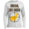 """Hello, My Deer"" Long Sleeve Moisture Absorbing Shirt"