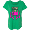 """Hunt Like A Girl"" Next Level Ladies' Triblend Dolman Sleeve"