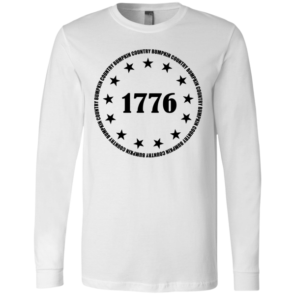 Country Bumpkin 13 stars 1776 3501 Men's Jersey LS T-Shirt