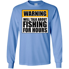 Will Talk About Fishing For Hours LS Ultra Cotton Tshirt