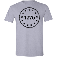 Country Bumpkin 13 stars 1776 G640 Softstyle T-Shirt