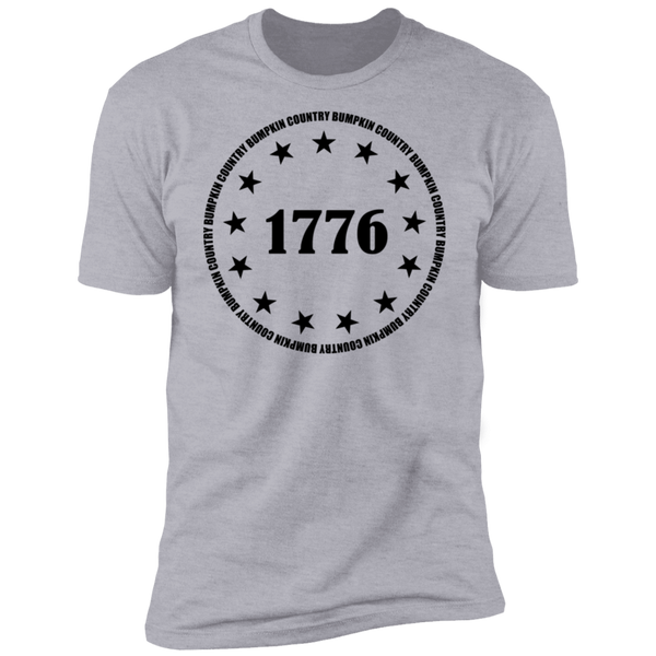 Country Bumpkin 13 stars 1776 Premium Short Sleeve T-Shirt