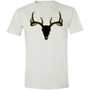 Buck Head Deer Skull G640 Gildan Softstyle T-Shirt