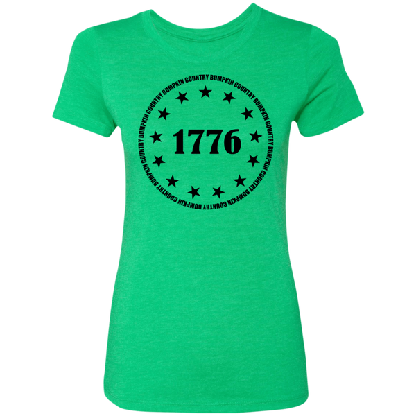 Country Bumpkin 13 stars 1776 NL6710 Ladies' Triblend T-Shirt