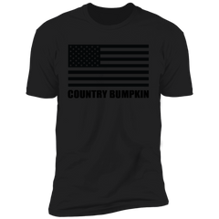 Country Bumpkin US Flag NL3600 Premium Short Sleeve T-Shirt