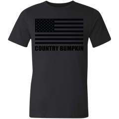 Country Bumpkin US Flag 3001U Unisex Made in the USA Jersey Short-Sleeve T-Shirt