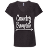 """Country Bumpkin"" B6005 Bella + Canvas Ladies T Shirt"